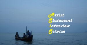 Artist Statement Interview Service